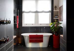 Bathroom Tile Decorating Ideas by Black And White Tile Bathroom Decorating Ideas Pictures