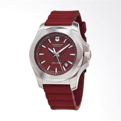 Jam Tangan Swiss Army Rubber 02 jual victorinox swiss army i n o x jam tangan pria