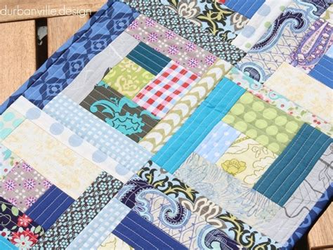 You Quilting by Quilt As You Go Log Cabin Quilt Favequilts