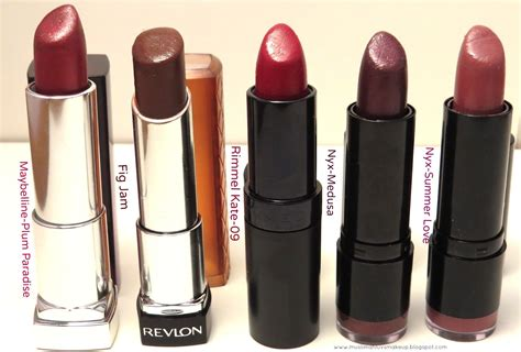 fall lipstick colors muslimahluvsmakeup my top five fall lipsticks