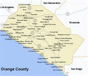 where is orange county california on map esl s orange county