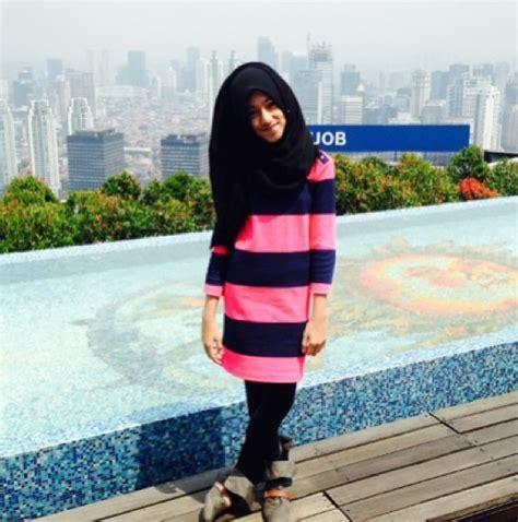 tutorial hijab bagi anak smp model style memakai hijab anak muda saat ini