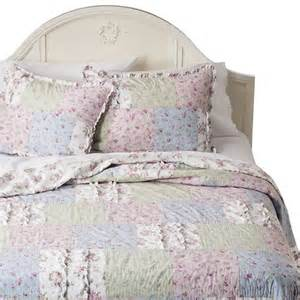 simply shabby chic 174 ditsy patchwork quilt multi target