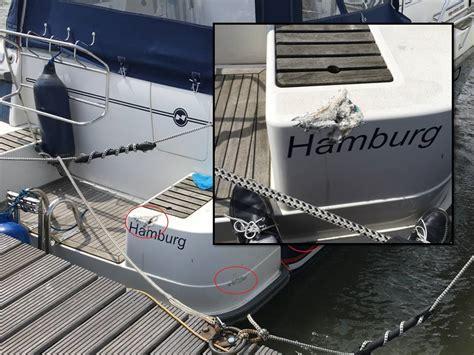 Gfk Yacht Lackieren by Reparatur Gelcoat Sch 228 Den Wrede Yacht Refits