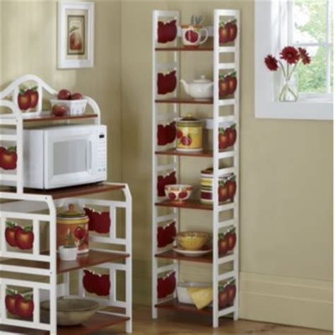 6 tier apple shelf kitchen apples