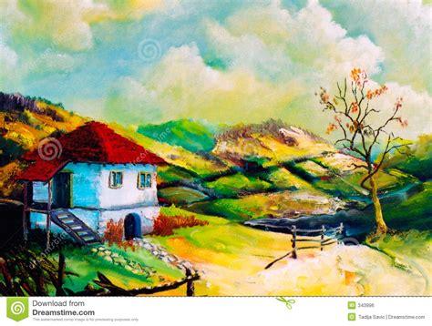 imagenes artisticas rurales paisajes rurales de la imaginaci 243 n imagen de archivo libre