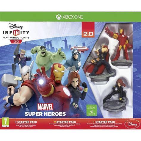 infinity 2 0 starter pack disney infinity 2 0 marvel heroes starter pack