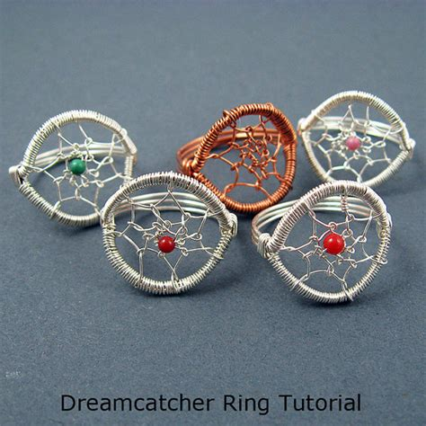 Binder Dreamcatcher 20 Ring dreamcatcher ring jewelry tutorial