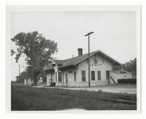 atchison topeka santa fe railway company depot gridley