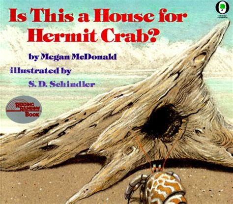 the three hermit crabs books is this a house for hermit crab by megan mcdonald