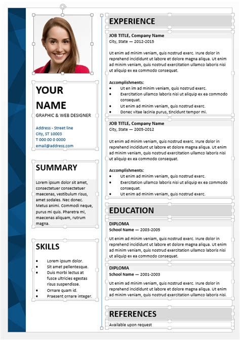 curriculum vitae format editable dalston powerpoint resume template