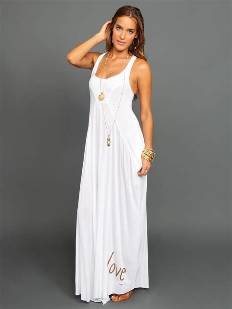Dress Maxy white maxi dress is for daily trendy dress