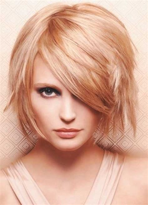 chin length blonde haircuts 15 unique chin length layered bob short hairstyles 2017