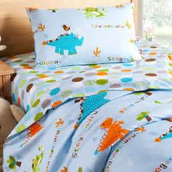 Dino Curtains Dinosaur World Twin Bedding Kids Bedding Cotton Bedding
