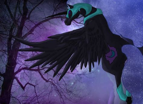 mare in the moon real life nightmare moon by nyx aeterna on deviantart