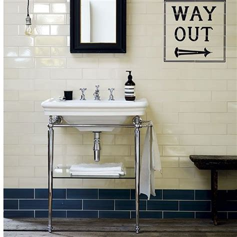 Fired Earth Sinks by Kensington Basin And Washstand From Fired Earth Bathroom