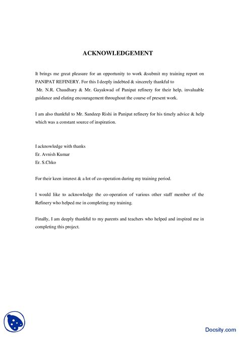 Acknowledgement Letter For God Acknowledgement Letter For Thesis Report Writefiction581