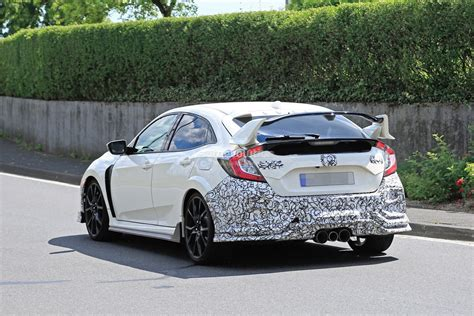 2019 Honda Civic Type R by 2019 Honda Civic Type R Spied For The Time