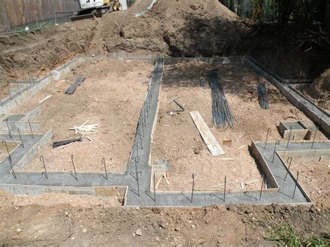 how to pour a basement foundation pictures of pouring the footers and foundation walls