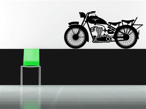 motorbike wall stickers vinyl motorcycle wall decal silodrome