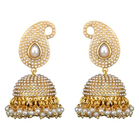 design earrings online buy traditional indian bollywood necklace set golden pearl