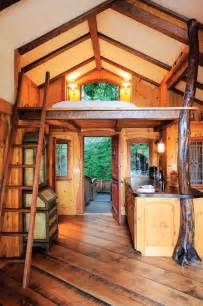 inside of a house inside a treehouse most beautiful