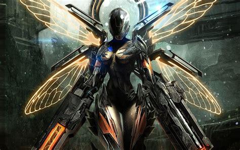 1045 Mainan Robot Warrior Heroes 5 Pcs armor gun sci fi robot cyborg weapon