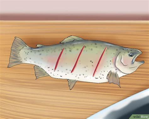 cucinare pesce al barbecue come cucinare il pesce sul barbecue 6 passaggi