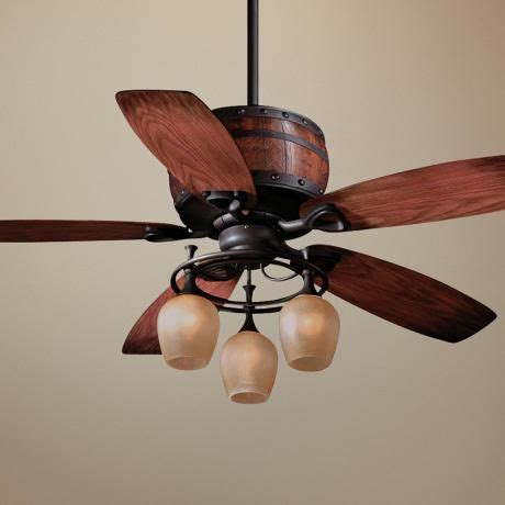wine barrel ceiling fan 153 best images about castle light fixtures on