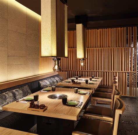 Reclaimed Wood Divider matsumoto restaurant design by golucci international