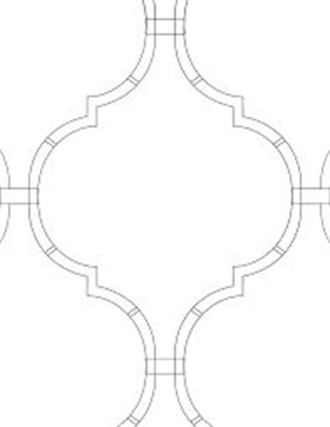 moroccan shapes templates best 25 moroccan stencil ideas on