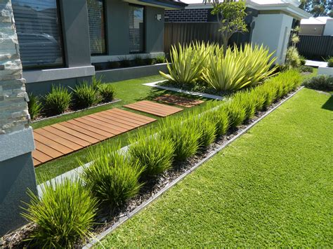one of our front yard design modern contemporary fake grass artificialgrassperth