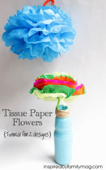 How To Make Mexican Tissue Paper Flowers - how to make tissue paper flowers