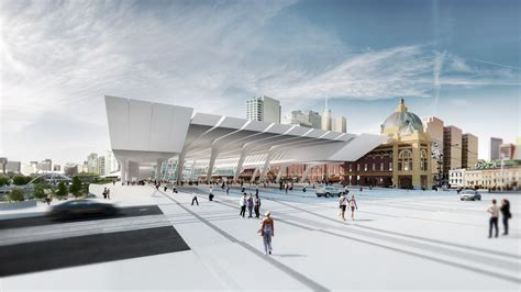 design competition rfp the flinders street station shortlisted proposal zaha