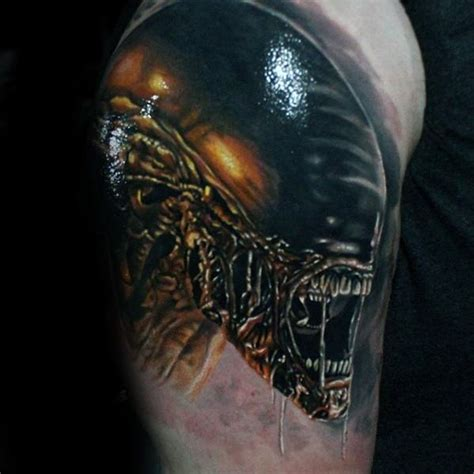 alien movie tattoo designs 50 xenomorph designs for ink ideas