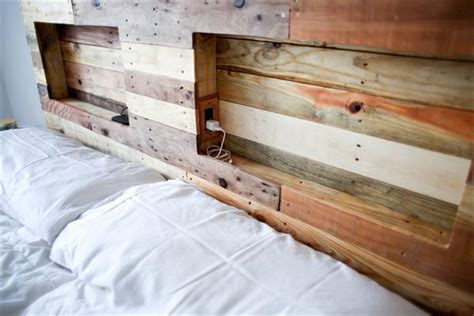 headboard from pallets diy pallet headboard pallet furniture plans