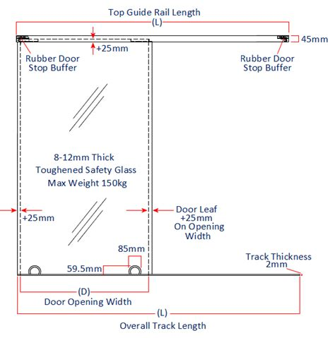 How To Measure Sliding Glass Door Bottom Rolling Floor Guided Sliding Door Gear For Glass Doors 8 12mm Thick