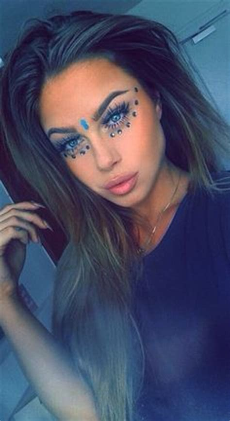 hairstyle ideas for raves 1000 images about edm makeup on pinterest rave makeup