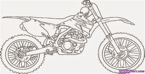 easy dirt bike coloring pages get this easy preschool printable of dirt bike coloring
