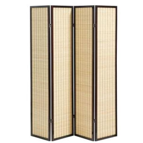 Home Decorators Collection 70 5 In H X 69 75 In W Cherry Home Depot Room Dividers