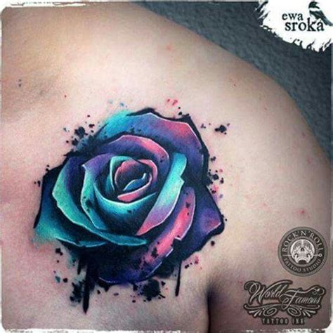 watercolor tattoos rose 17 best ideas about watercolor tattoos on