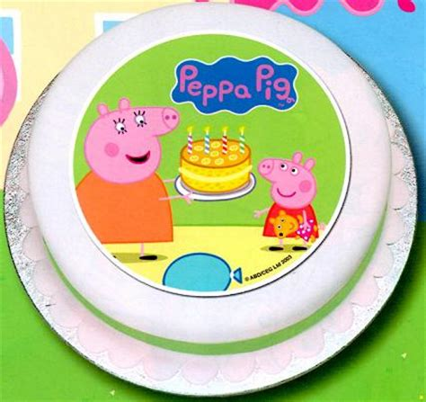Peppa Pig Cake Decorations by Peppa Pig Cake Decoration Jj Devereux Ltd Office
