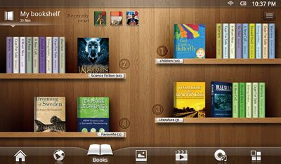 bookshelf ebooks the best shelf design