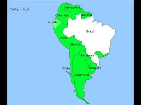 Mba In The Usa Vs South America by Future Of South America Part 1 Quot New Countries And Unites