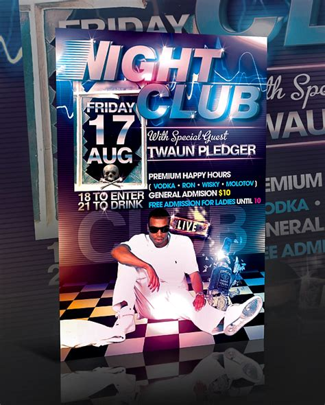 19 Strip Club Flyer Psd Templates Images Free Club Flyer Templates Photoshop Free Party Flyer Club Flyer Templates Photoshop