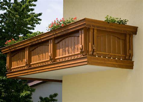 Balkon Holz by Holz Classic Semmering Leeb Balkone Und Z 228 Une