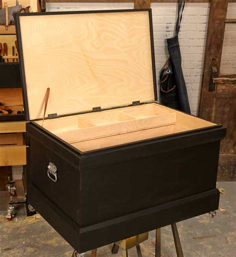 How To Make A Tool Box Out Of Paper - build a traditional looking tool chest in two days