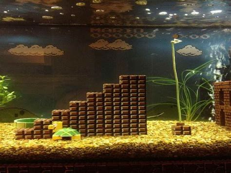 design your aquarium game supermario games aquarium decoration themes home