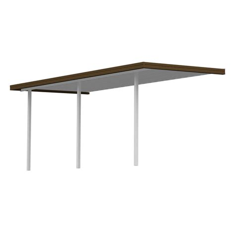Sierra Patio Covers by Shop Americana Building Products 36 67 Ft X 7 Ft X 8 Ft