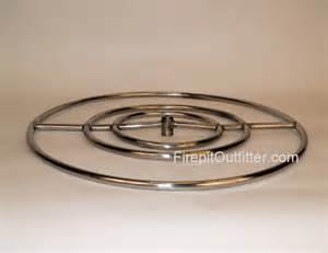 metal pit ring 30 quot stainless steel pit ring high capacity